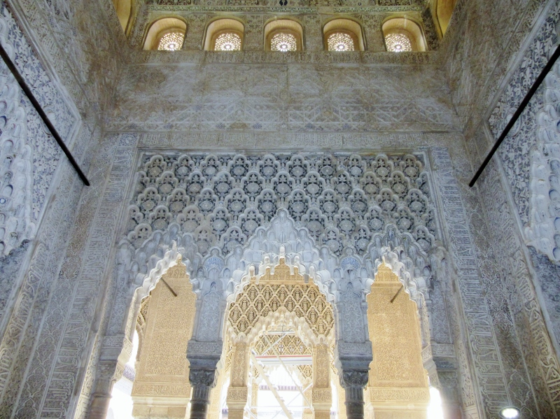 plaster carving-The Alhambra