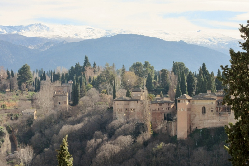 Sierra Nevada Mountains-The Alhambra
