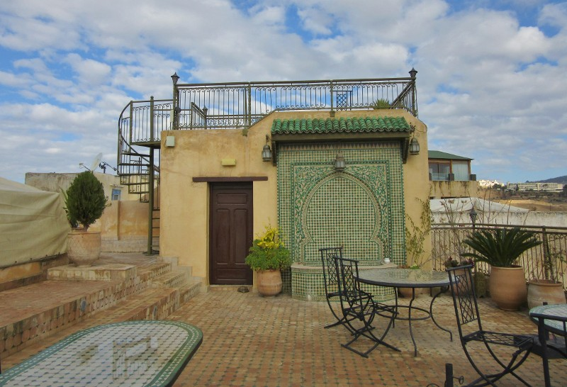 Rooftop terrace of Ryad Alya