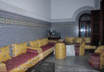 lounge-Ryad Alya. Fez, Morocco.