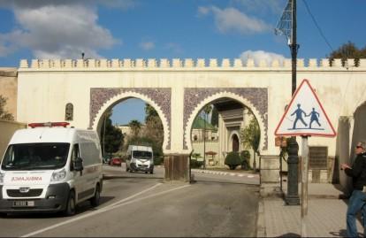 feature photo gates to medina of Fez, Morocco.