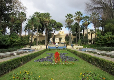 Jardin Jnane Sbil - The Royal Gardens, Fes, Morocco.