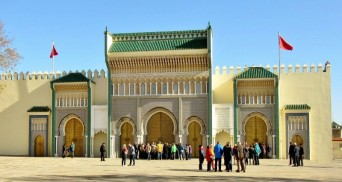 Doors/Gates of King's Palace (one of them) in Fez, Morocco.