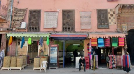 In the streets. Marrakesh, Morocco.