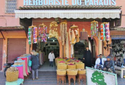 Herbs and spices. Marrakesh, Morocco.
