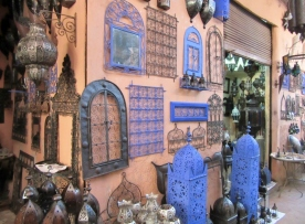 the souks of Marrakesh, Morocco