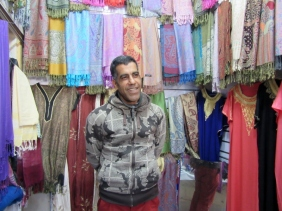In the souks of Marrakesh, Morocco