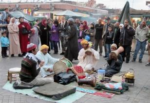 In the medina - Marrakesh, Morocco