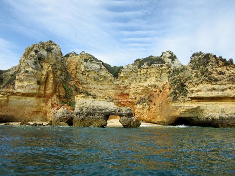 Pontas de Piedade - Grotto boat trip