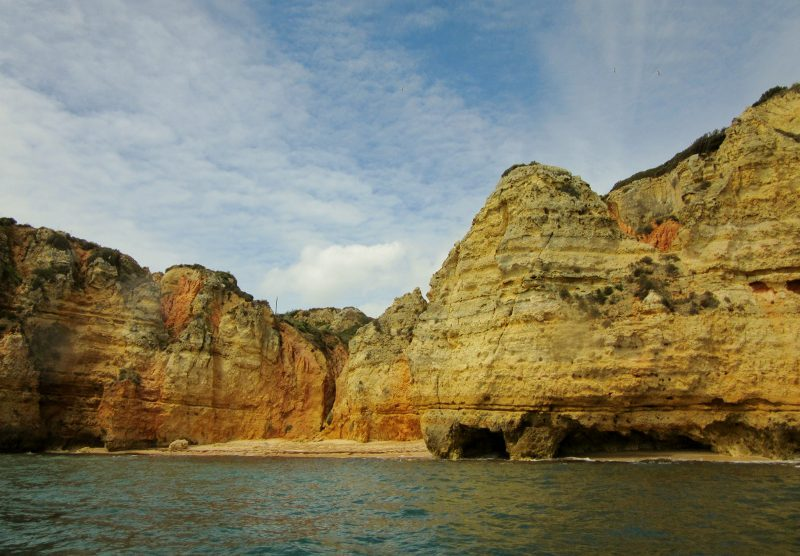 Ponta da Piedade -Grotto boat trip