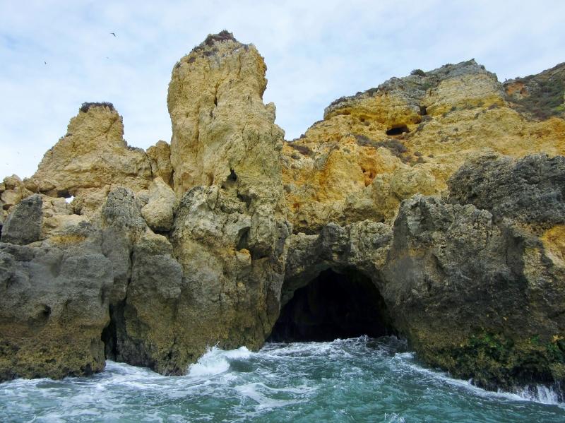 Pntas da Piedad grotto boat trip