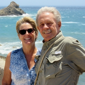 Anita and Dick at Cabo del Gatas - Nigar National Park