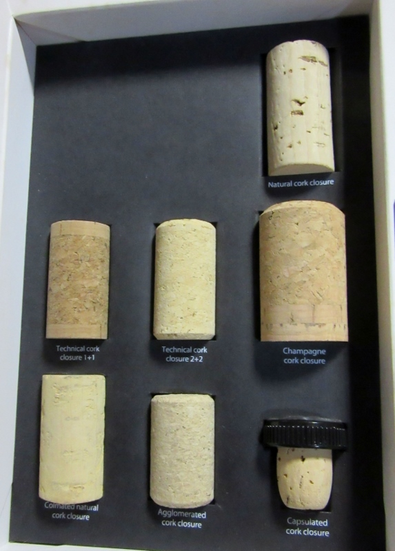 A variety of corks for different libations-Novacortica