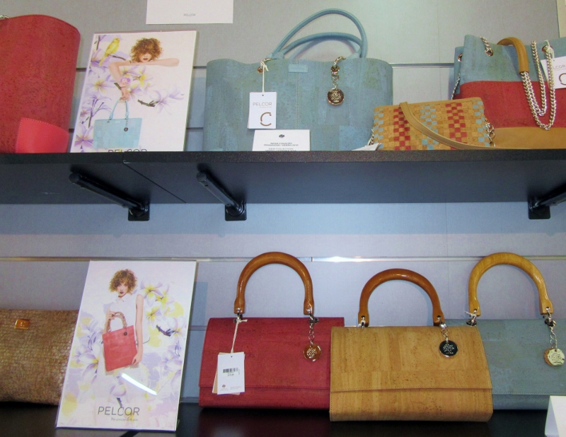 Quality handbags - high cork products
