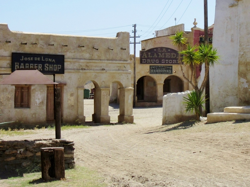 Fort Bravo Hollywood Texas, Spain - photo by No Particular Place To Go