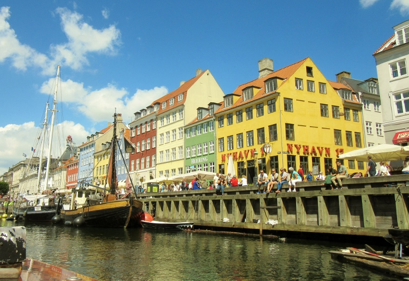 Nyhavn - Copenhagen canal boat tour- photo by No Particular Place To Go