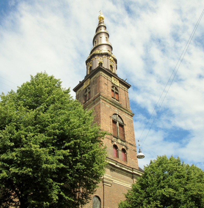 Our Savior's Church, Copenhagen. Photo by No Particular Place To Go