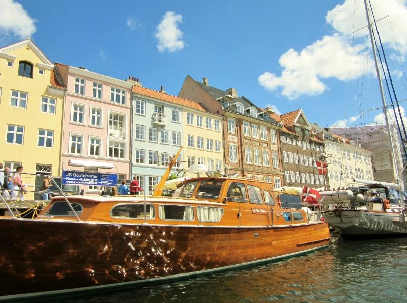 Lovingly refurbished wooden boat