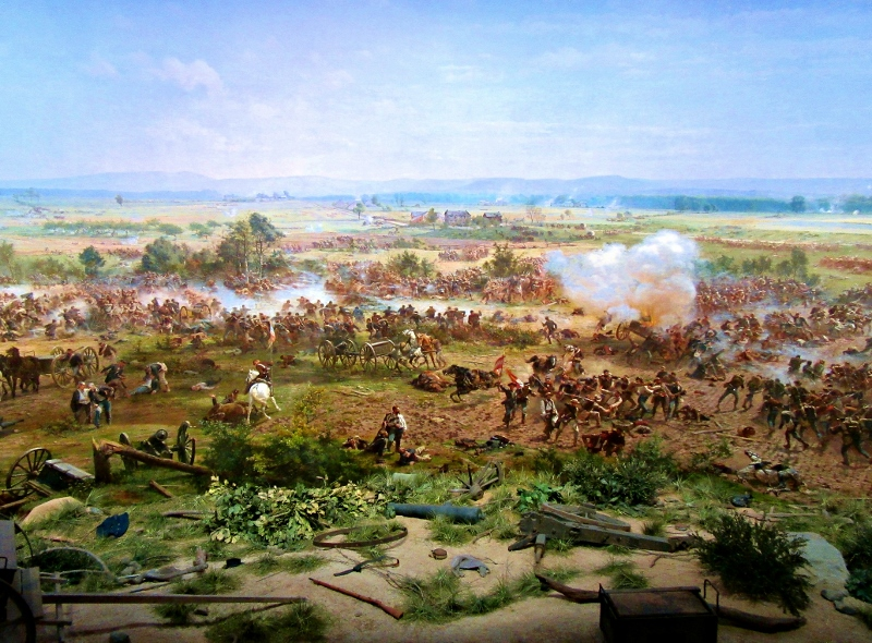 Cyclorama at Gettysburg Museum, Pennsylvania. Photo by No Particular Place To Go