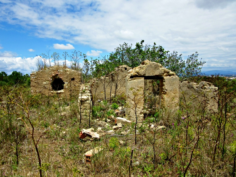 ruins near Porto de Mos, Lagos