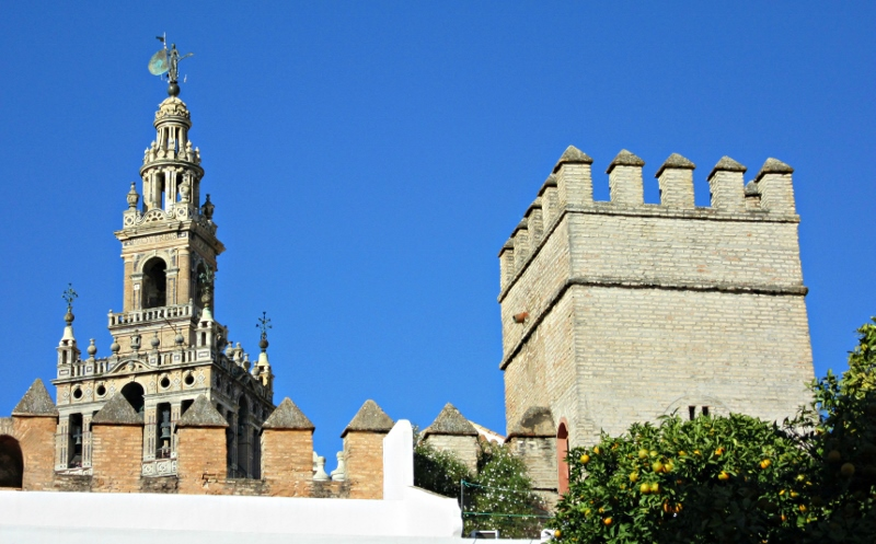 The Tower of Giralda, Cathedral of Seville. Photo by No Particular Place To Go