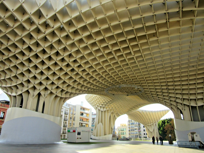 Metropol Parasol. Seville, Spain. Photo by No Particular Place To Go