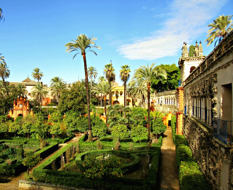Real Alcazar of Seville. Photo by No Particular Place To Go