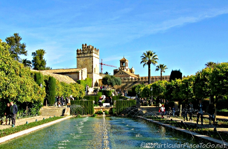 gardens - Alcazar de los Reyes Cristianos - Cordoba, Spain photo by No Particular Place To Go