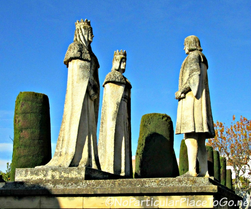Christopher Columbus, Ferdinand and Isabella - photo by No Particular Place to Go