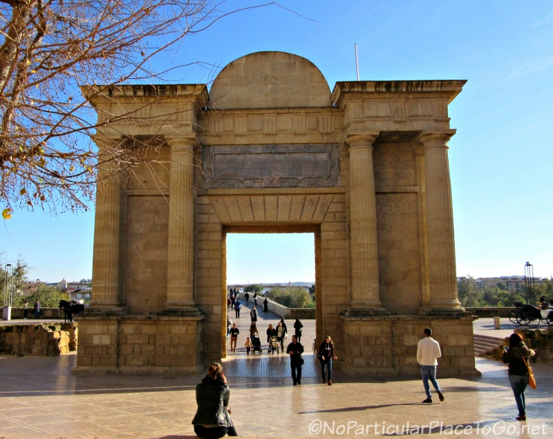 Puerta del Puente (Bridge Gate) - Cordoba, Spain photo by No Particular Place to Go