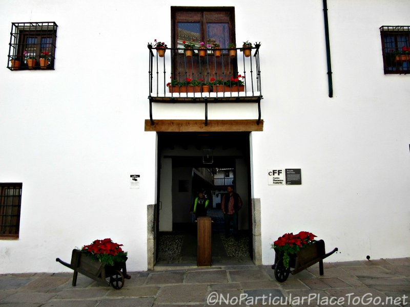 steet scene - Posada del Potro, Cordoba, Spain photo by No Particular Place to Go