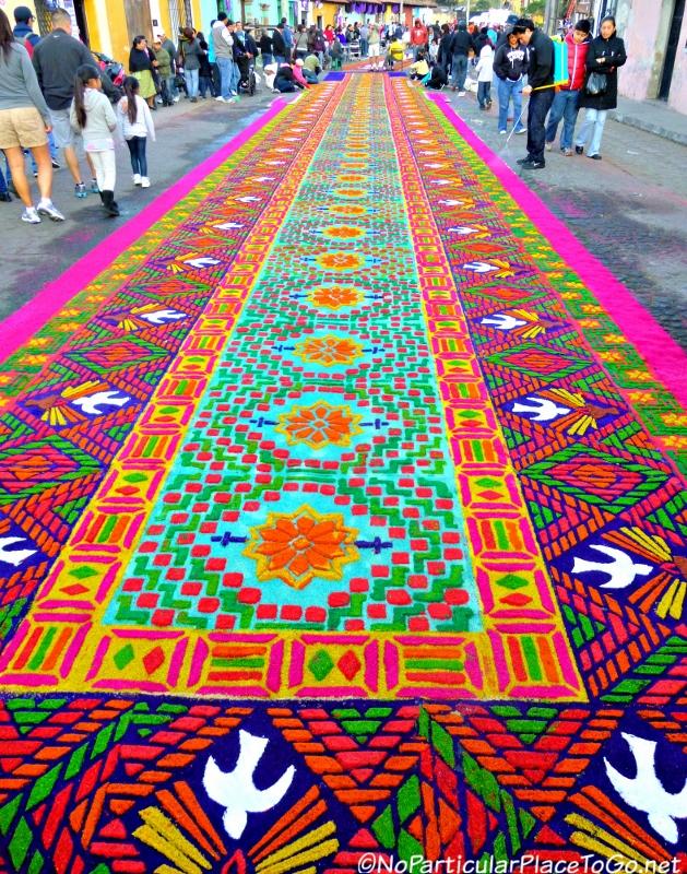 Lent and semana santa in antigua guatemala alfombras - Alfombras en crevillente ...